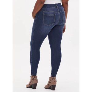 🆕 Torrid Stretch Jegging Skinny Jean 12 NWT Denim
